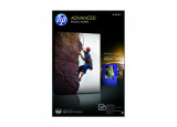 Papier photo HP Advanced Glossy Brillant A6 - 25 feuilles