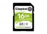 Carte SDHC Kingston Canvas Select - 16 Go - Classe 10/UHS-I