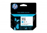 Pack cartouche HP CZ134A n°711 - 3 x Cyan