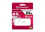 Cle USB 3.0 TRANSCEND JetFlash 710 - 64Go Gris