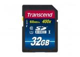 TRANSCEND Carte SDHC UHS-I 400x Class 10 - 32Go