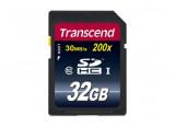 TRANSCEND Carte SDHC 200x Class 10 - 32Go