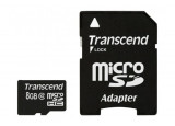TRANSCEND Carte MicroSDHC Class 10 - 8Go