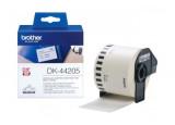 Etiquette / Papier thermique BROTHER DK-44205