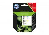 Pack cartouche HP C2P42AE n° 932XL - Noir + 3 couleurs