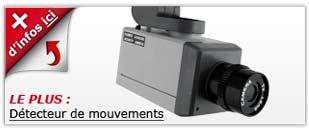 camera factice Détecteur de mouvements