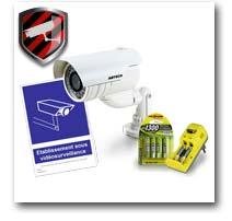 Les kits cameras factices Prêts à l'emploi
