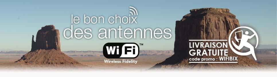 Antenne WiFi USB Réseau Sans Fil Longue Portée - Antenne wifi usb longue portée
