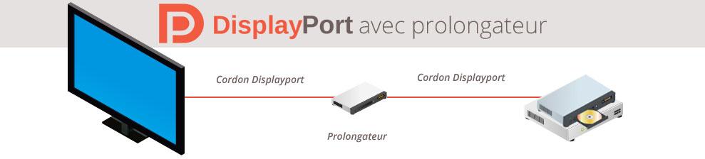 Prolongateur Displayport