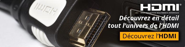 Découvrez en détail tout l'univers de l'adaptateur HDMI
