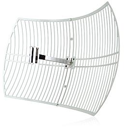 antenne wifi ext rieur grille parabolique 24 dbi tp link tl ant2424b achat vente sur. Black Bedroom Furniture Sets. Home Design Ideas