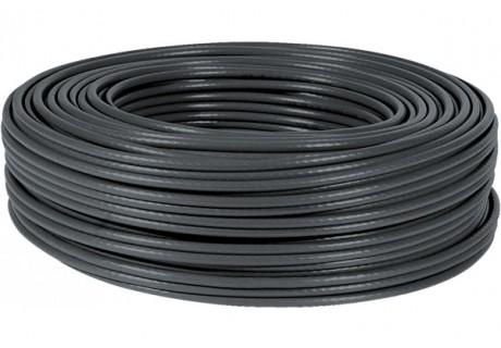 cable ethernet 100m noir multibrin CAT5e FTP