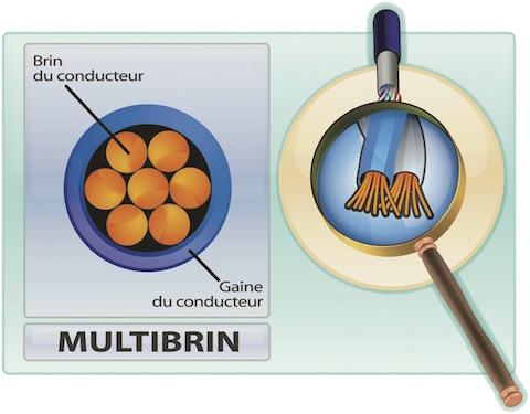 cable rj45 multibrin