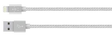 Câble Lightning Argent 1,2m Belkin