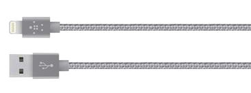 Câble Lightning Gris Siédral 1,2m Belkin