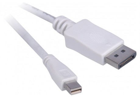 cable displayport male vers mini displayport male 1m