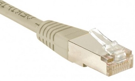 cable ethernet pas cher ftp gris 2m cat 6