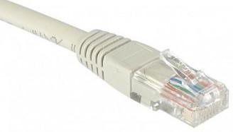 cable ethernet utp gris 20m catégorie 6 économique
