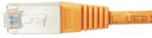 cable ethernet ftp orange 0,3m cat 5e