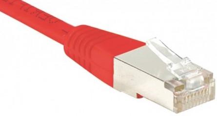 cable ethernet ftp rouge 0,7m cat 5e