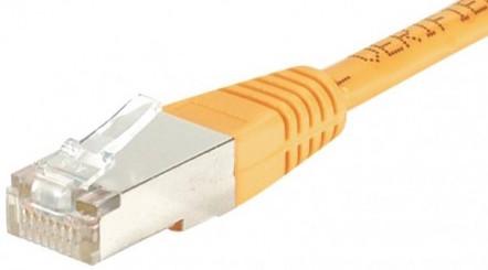 cable ethernet ftp orange 10m cat 5e