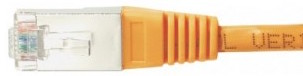 cable ethernet ftp orange 15m cat 5e