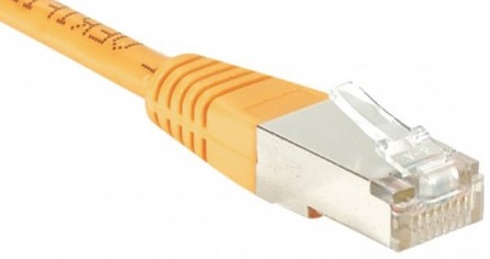 cable ethernet ftp orange 25m cat 5e