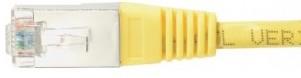 cable ethernet ftp jaune 2m cat 5e