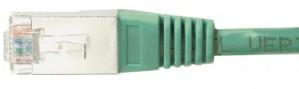 cable ethernet ftp vert 2m cat 5e
