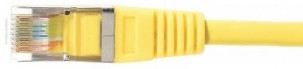 cable ethernet ftp jaune 3m cat 5e