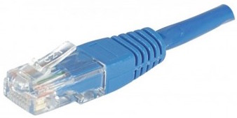 cable ethernet utp bleu 5m cat 5e