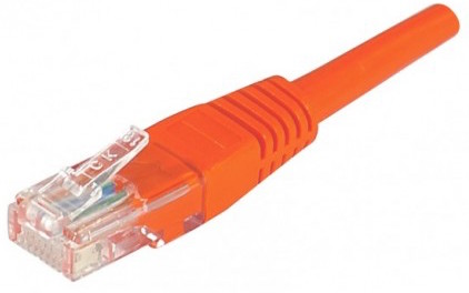 cable ethernet utp rouge 5m cat 5e