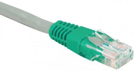 cable ethernet utp croisé gris 15m cat 5e