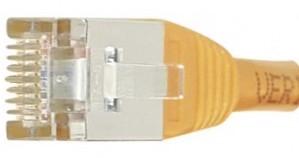 cable ethernet ftp orange 3m cat 6