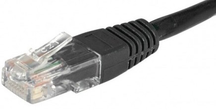 C ble rj45 cat 6 u utp noir 0 5m achat vente sur - Cable ethernet categorie ...