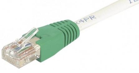 cable ethernet utp croisé gris 10m cat 6
