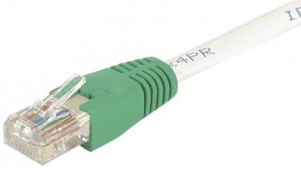 cable ethernet utp croisé gris 1m cat 6