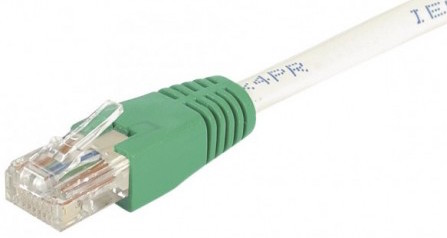 cable ethernet utp croisé gris 3m cat 6