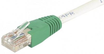 cable ethernet utp croisé gris 5m cat 6