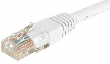 cable ethernet pas cher utp blanc 2m cat 5e