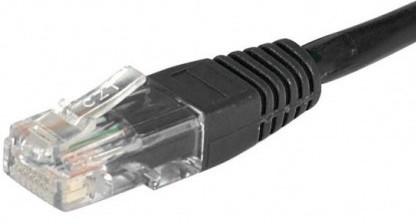cable ethernet pas cher utp noir 2m cat 5e