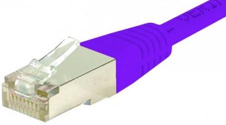 C ble rj45 cat6 s ftp violet 20m achat vente sur - Categorie cable ethernet ...