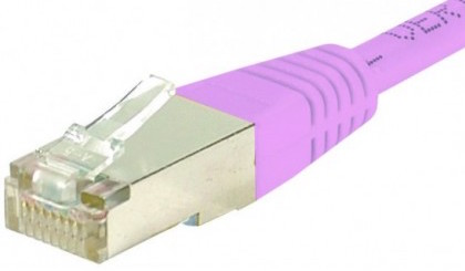C ble rj45 cat6 s ftp rose 2m achat vente sur - Cable ethernet categorie 6 ...