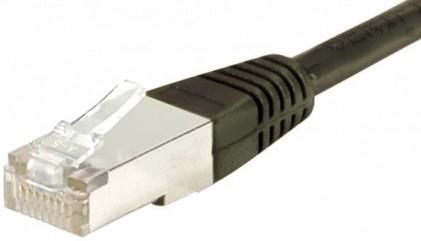 C ble rj45 cat6 s ftp noir 30m achat vente sur - Categorie cable ethernet ...