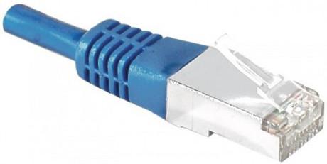 cable ethernet catégorie 6a sftp bleu 2m