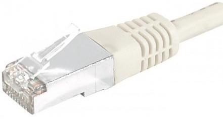 cable ethernet catégorie 6a sftp gris 3m