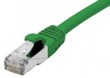 cable ethernet s/ftp vert 10m catégorie 6a
