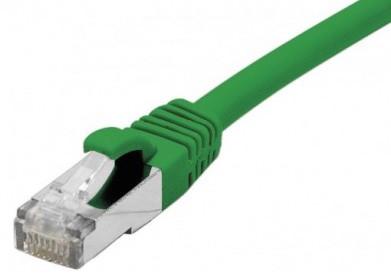 cable ethernet s/ftp vert 25m catégorie 6a