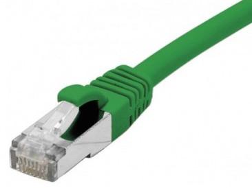 cable ethernet s/ftp vert 2m catégorie 6a