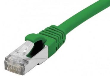 cable ethernet s/ftp vert 3m catégorie 6a